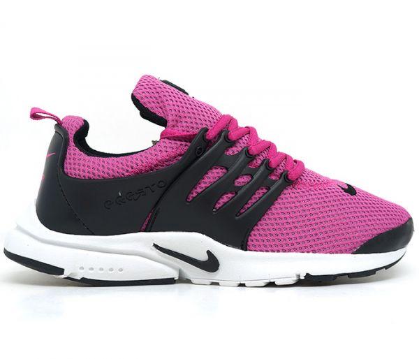 581b3c21fb8 Tênis Feminino Nike Air Presto Fúcsia e Preto - D.Sensacional ShoesShop