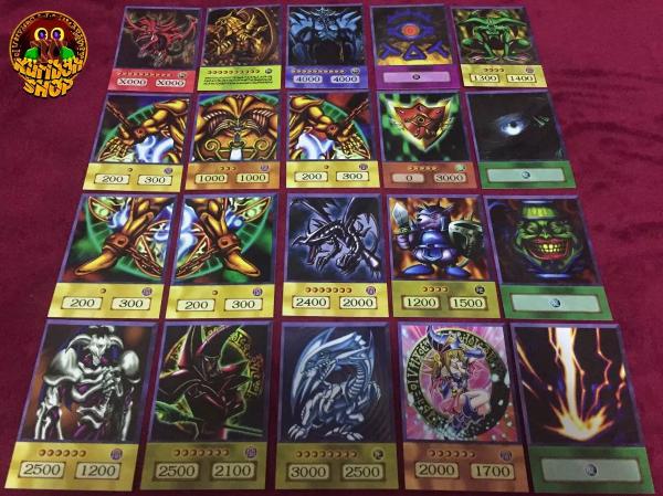 Combo 100 Cartas Versão Anime