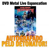 DVD Massacration Live Metal Espancation (AUTOGRAFADO)