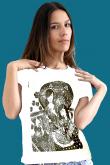 camiseta Gueixa - arte original