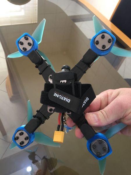 Protetor do Frame em TPU para Diatone GT2  / GT200 / GT200N / GT200s  (COR Azul)