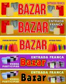 Arte de Faixa para Bazar