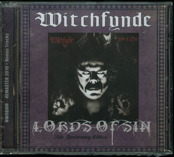 CD -  Witchfynde – Lords Of Sin