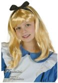 Peruca Alice no País das Maravilhas Infantil FF3825