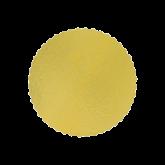 Cake Board Ouro Redondo 280mm 1un