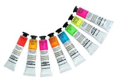 Tinta a óleo fluorescente 20ml Corfix