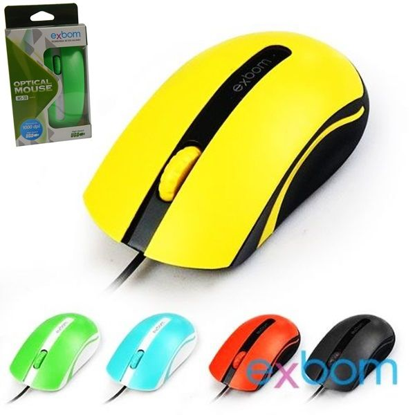 MOUSE USB EXBOM MS-50