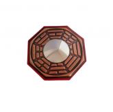 Bagua Feng Shui 13cm com Espelho Convexo