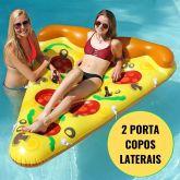 Boias Inflaveis Divertidas Pizza Gigante Colchao Piscina