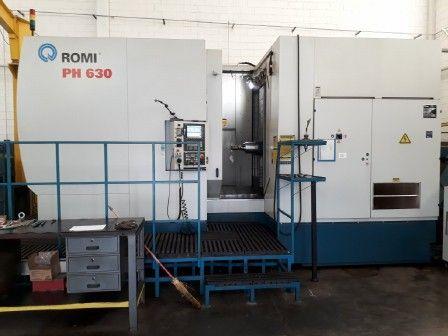 Centro de Usinagem CNC Usado Horizontal ROMI PH-630
