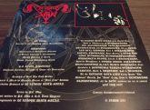 In League with Satan / Blaspherian - SPLIT 7'