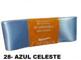 FITA DE CETIM AZUL CELESTE