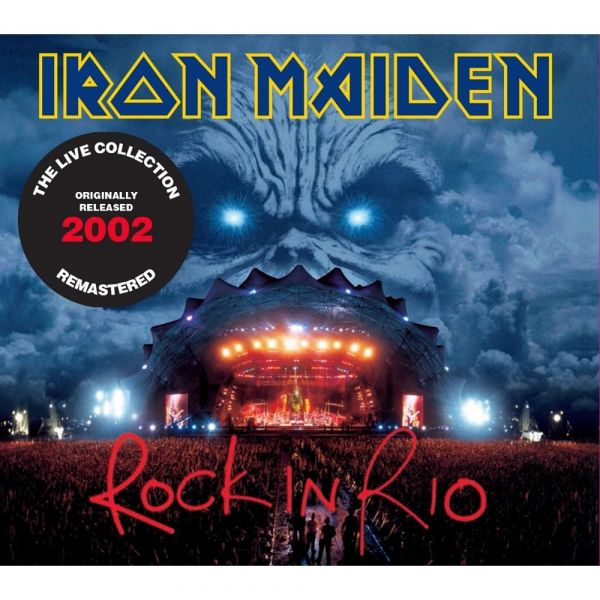 CD Iron Maiden – Rock In Rio (Digipack Duplo)