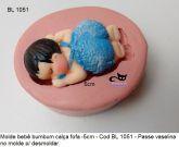 Bebê Bumbum com calça fofa de 4,5cm