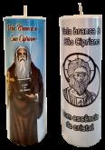 Vela Branca de São Cipriano com Essência de Cristal