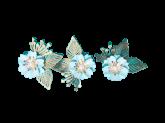 Kit Flores de Papel Tiffany 3un