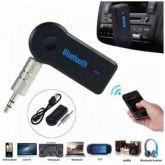 Adaptador Bluetooth P2 Auxiliar Musicas Viva Voz Com Bateria Microfone Embutido