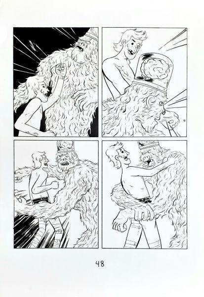 Parafusos, zumbis e monstros do espaço pág 61