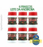 LEITE DA ANDIROBA - 6 FRASCOS