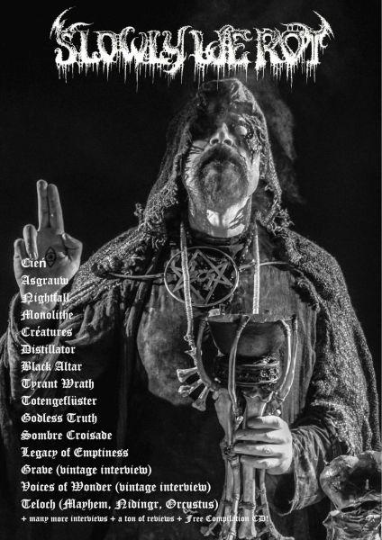 Slowly We Rot #11: Revista e CD