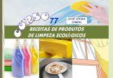 77. RECEITAS DE PRODUTOS DE LIMPEZA ECOLÓGICOS
