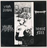 4 Way CD - Força Macabra / Masher / Mahogany / Vomit Fall