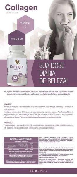 Collagen - Colágeno Forever com Vitamina C