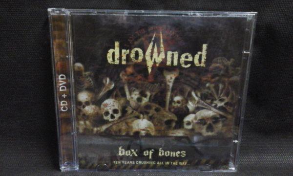 CD - Drowned - Box Of Bones (+DVD)