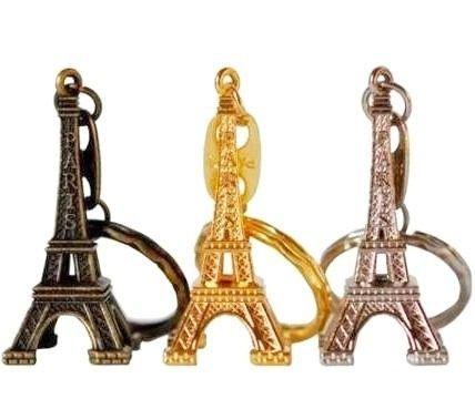 Kit com 80 Chaveiros Torre Eiffel ( PROMOÇÃO)