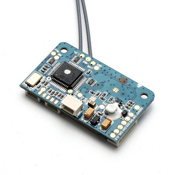 Receptor Flysky X6B 2.4G 6CH i-BUS PPM PWM p/  AFHDS i10 i6s i6 i6x i4x