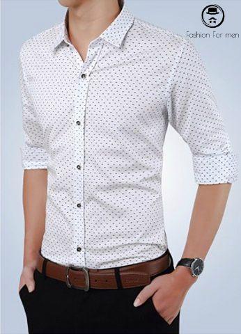 Camisa Slim Fit 2017 Branca