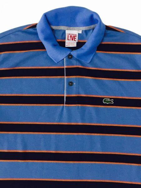 Camisa Lacoste Listrada Original Estilo Importado Derson Imports