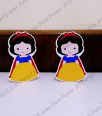 2 Displays de mesa - Branca de Neve cute