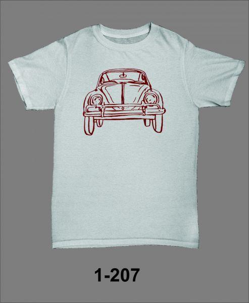 1 - Camiseta Adulto Fusca Desenho