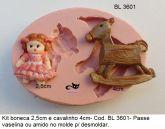 Kit boneca e cavalinho ( BL 3601 )