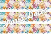 Papel Arroz Dinheiro Faixa Lateral A4 004 1un