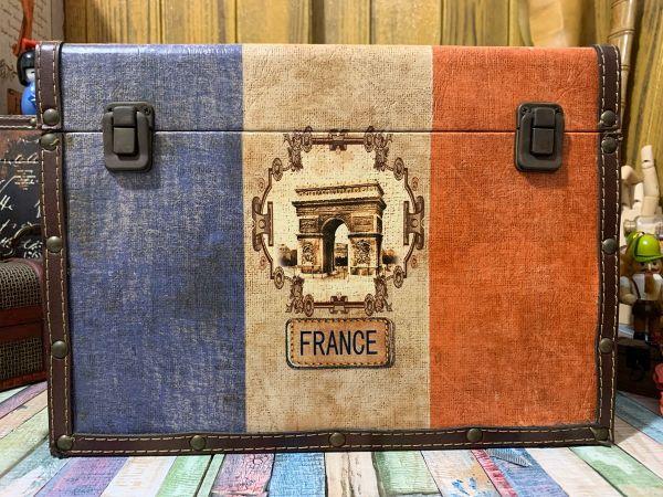 Baú Bandeira Da França 34cm