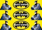 Papel Arroz Batman Faixa Lateral A4 010 1un