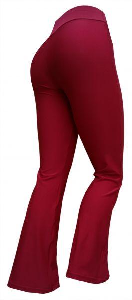 calça flare ou reta(P-M-G)vermelha, suplex gramatura média/alta
