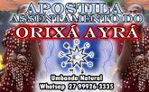 APOSTILA ASSENTAMENTO ORIXÁ AYRÁ
