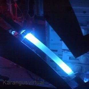 Barras com leds auto brilho e plugue usb