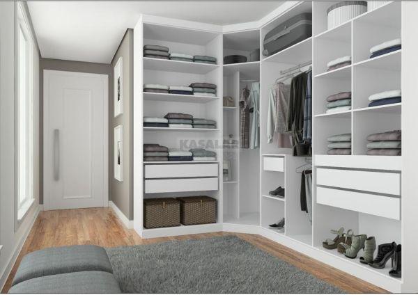 Closet planejado valor do metro quadrado florart moveis for Cotizacion de closets