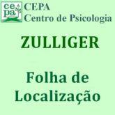 39.02 - ZULLIGER - Folha de Localização - Bloco c/ 25 folhas