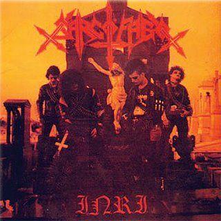 CD - Sarcófago - I.N.R.I.