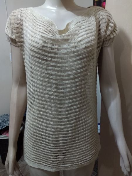 blusa de linha