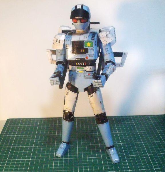 Jiban  Articulado Papercraft - Arquivo PDO