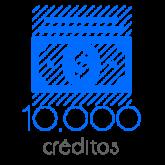 10,000 Moedas