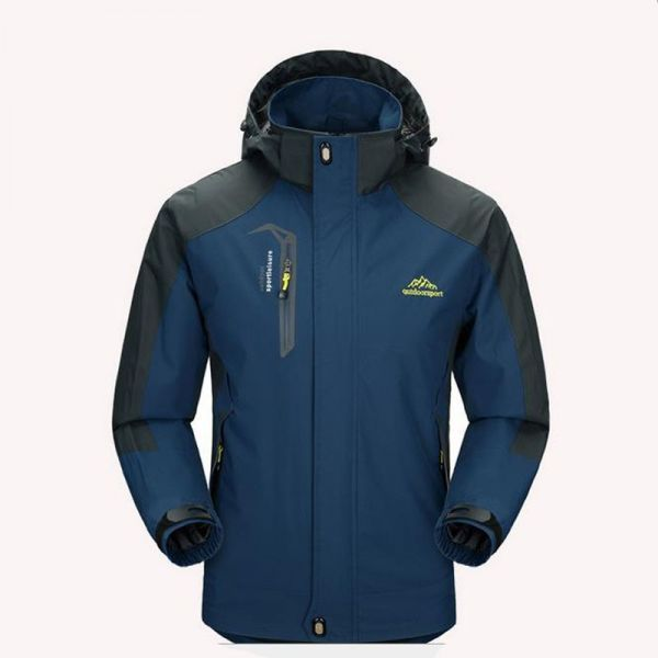 a6fc25d4e Casaco Corta-Vento Proteção UV À Prova D  Água Homem Blusão Frio Capuz (
