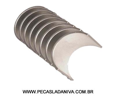 Bronzina de Biela Medida 0,75 do Motor Niva 1.6 Jogo(Nova) Ref. 0597