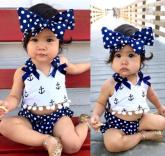 Conjuntinho Baby Marinheira